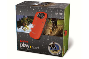 0900688a80e87bb4 EKN037420 PLAYSPORT Zx5 Fea11 Kodak PlaySport Z5 HD Waterproof Pocket Video Camera 2nd Generation