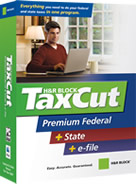 TaxCut Premium Federal + State + E-file Software