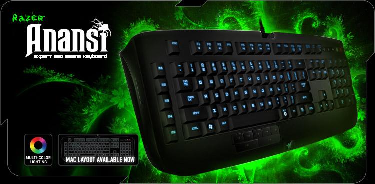Razer Anansi Expert MMO Gaming Keyboard (US) 220723800