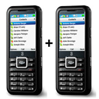 NEW! 3 Skypephone - Mobile Phone (Twin Pack)