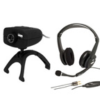 FREETALK® AMT Web Camera 1.3MP and Stereo Headset