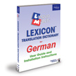 German Lexicon Translation Dictionary