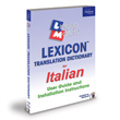 Italian Lexicon Translation Dictionary