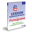 Portuguese Lexicon Translation Dictionary