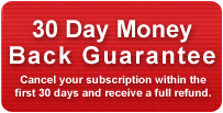 30 Day Money Back Guaratee | Cancel your subscription within the first 30 days and receive a full refund.