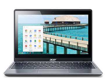 The Acer C720-2800 Chromebook features the Intel® Celeron™ Processor 2955U with Haswell micro-architecture.