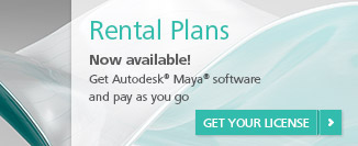 Maya Rental License Plan