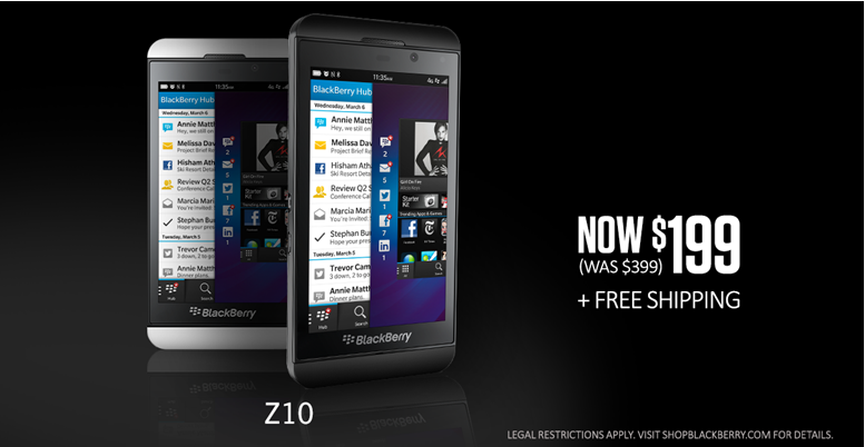 Z10 for $199