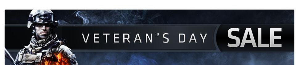 Vet's Day Banner