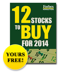 12 Stocks to Buy - Yours Free
