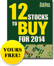 12 Stocks to Buy for 2014 - Yours Free