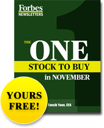 The One Stock to Buy in November - Yours Free!