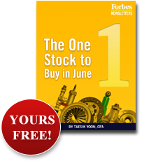 The One Stock to Buy in June - Yours Free