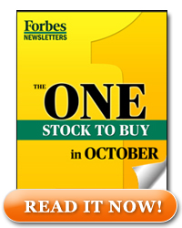 One Stock to Buy In October - Read It Now!