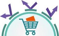 ネットショッピングやオンラインバンクの利用も安心! イメージ
