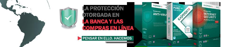 La protección otorgada en la banca y las compras en línea.  Pensar en ello. Hacemos