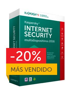 Kaspersky Internet Security – multidispositivos 2016