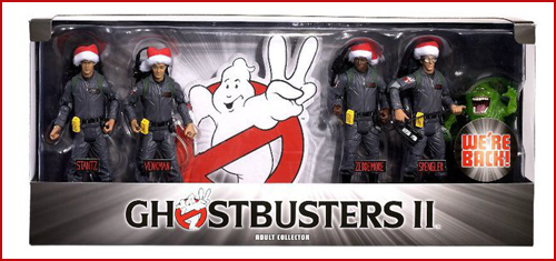 Mattel - Ghostbusters Ghostbusters-II-Holiday-Pack