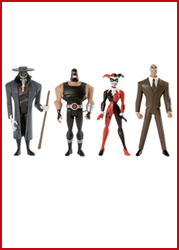 JLU Gotham City Criminals 4-Pack