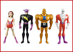 Justice League Unlimited Doom Patrol 4-Pack