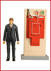 "Ghostbusters™ 6"" Walter Peck™ Figure (with containment unit)"