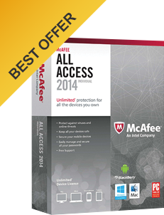 McAfee All Access - Best Offer