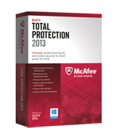 McAfee Total Protection 2013 - Ultimate PC Protection