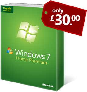 Windows 7 only £29.99