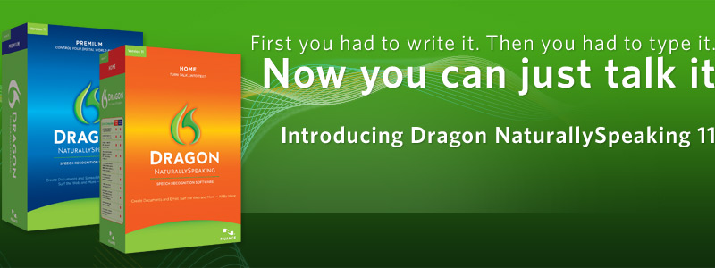 Pre-order Dragon NaturallySpeaking 11