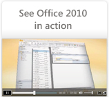 See Office 2010 in action
