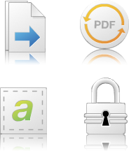 PDF Converter Professional icons