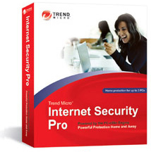 Trend Micro Internet Secruity 2008 Pro box