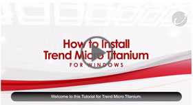 How to Install Titanium Security for Windows