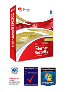 Trend Micro Internet Security box