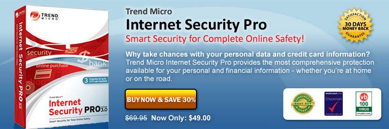 trend internet security pro for Dell