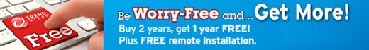 Worry Free Business Security – Get 3 years for the price of 2