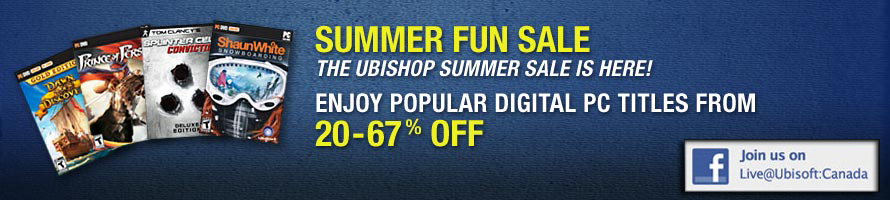 Ubisoft - Summer Fun Sale