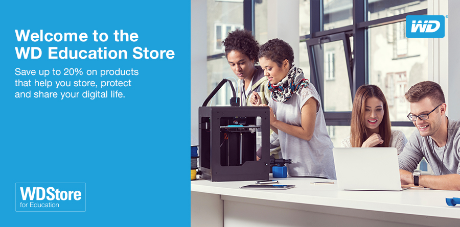 Welcome to the Western Digital Partner Store