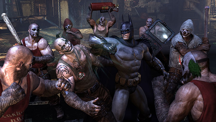Скачать игру бэтмен аркхем сити.