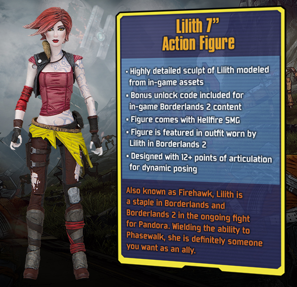 MCFARLANE TOYS LILITH 7 INCH ACTION FIGURE