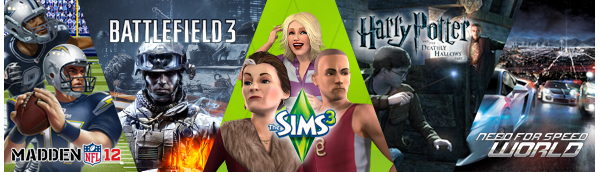 MADDEN | Battlefield | The Sims | Harry Potter | Need For Speed