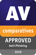 AV Comparatives 2018年7月受賞