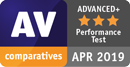 AV Comparatives 2019年4月受賞