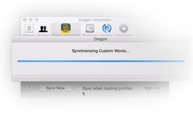 synchronize with your desktop