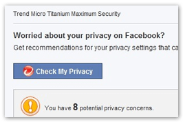 Facebook privacy protection