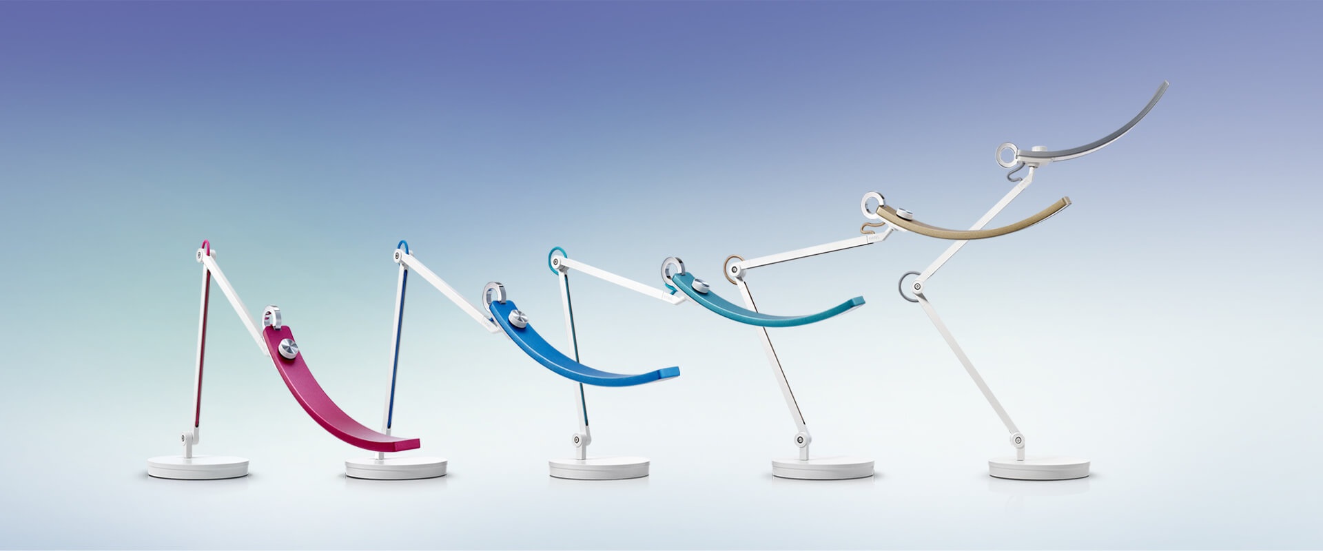 BenQ WiT is the world's first LED desk lamp designed for e-Reading and screen reading